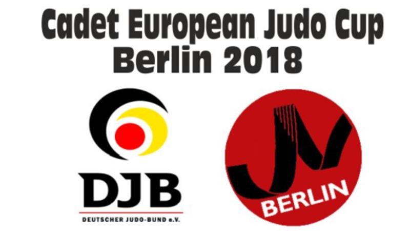 Η ελληνική παρουσία στο Cadet European Judo Cup Berlin 2018 (1η ημέρα)