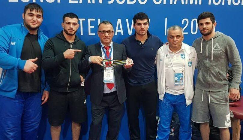 Χάλκινο μετάλλιο ο Τσελίδης στο Γκραν Πρι του Χοχότ