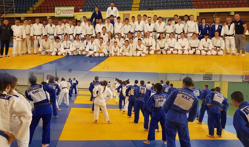 Προπονητικό camp στο Αμύνταιο για την Εθνική Ομάδα Τζούντο