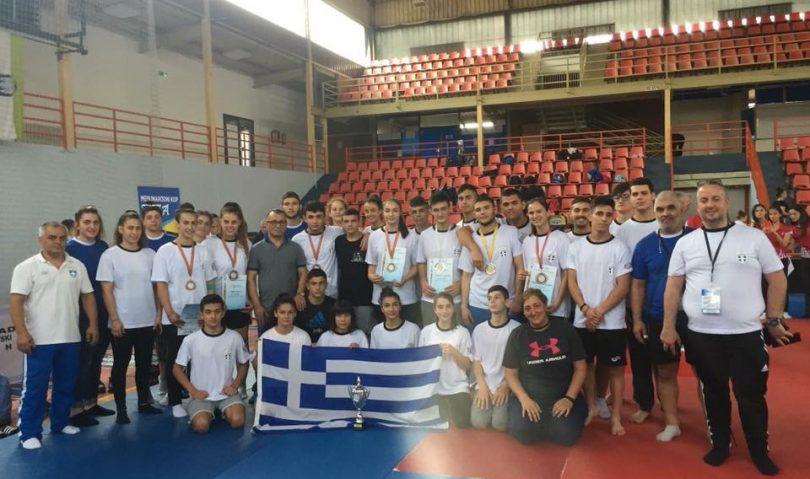 Δέκα μετάλλια ο ελληνικός απολογισμός στο Βαλκανικό Πρωτάθλημα εφήβων/νεανίδων