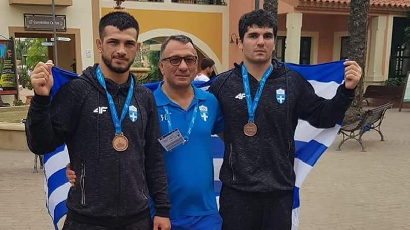 Χάλκινα μετάλλια από Τσελίδη και Ντανατσίδη στους Μεσογειακούς Αγώνες