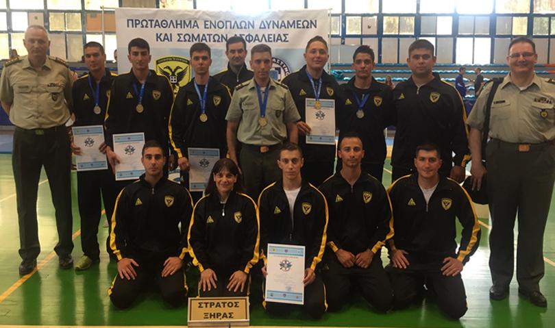 Αποτελέσματα Πρωταθλήματος Τζούντο Ενόπλων Δυνάμεων και Σωμάτων Ασφαλείας 2018