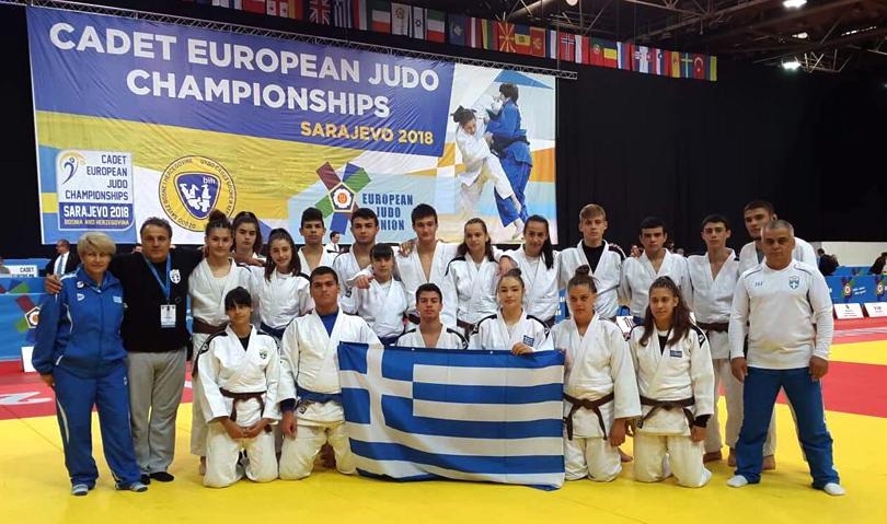 Προπονητικό Camp της Εθνικής Ομάδας Τζούντο & συμμετοχή στο Πανευρωπαϊκό Πρωτάθλημα Εφήβων/Νεανίδων 2018