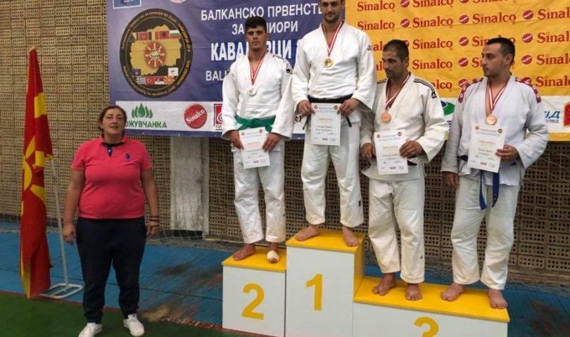 «Ασημένιος» ο Συμεών Γεωργιάδης στο Βαλκανικό πρωτάθλημα ανδρών