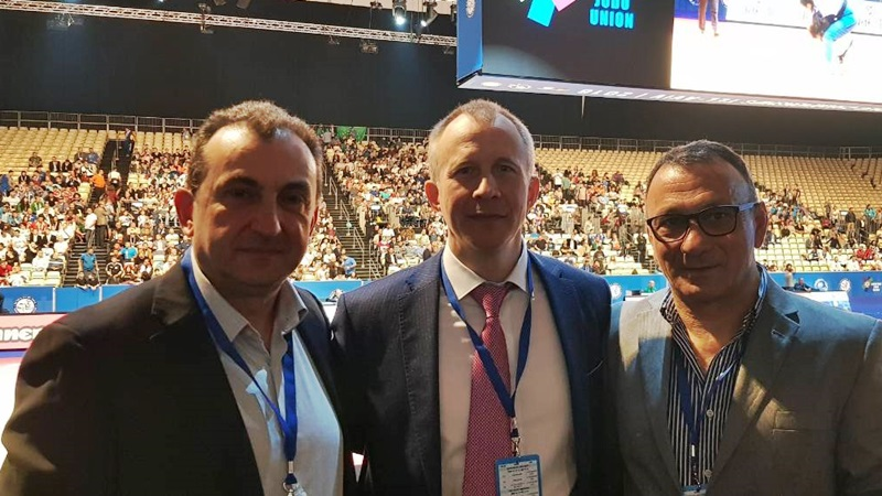 Ο πρόεδρος της EJU, Σεργκέι Σολοβέιτσικ, στα Χανιά για το  Cadet European Judo Cup 2019