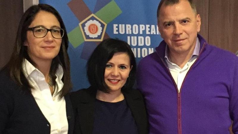 Η Βαλεντίνα Στεφανίδου εκπροσώπησε την Ελλάδα στο 70ο Τακτικό Κογκρέσο της EJU