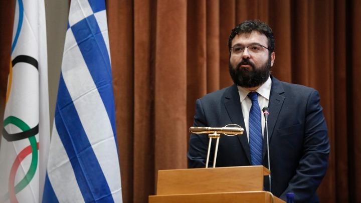 Athens Junior European Cup: Χαιρετισμός Υφυπουργού Αθλητισμού Γιώργου Βασιλειάδη / Statement by the Deputy Minister of Sport, Mr. Giorgos Vasiliadis