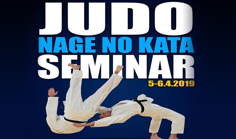 5-6 Απριλίου 2019 | Σεμινάριο αγωνιστικού Nage-no-kata
