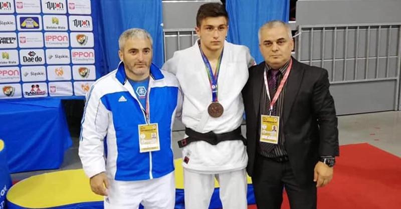Cadet European Judo Cup: Χάλκινο μετάλλιο ο Τσουτλασβίλι στην Πολωνία