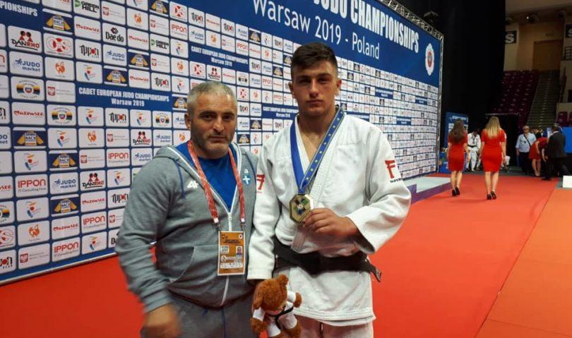 «Χάλκινος» πρωταθλητής Ευρώπης στους U18 ο Μιχαήλ Τσουτλασβίλι