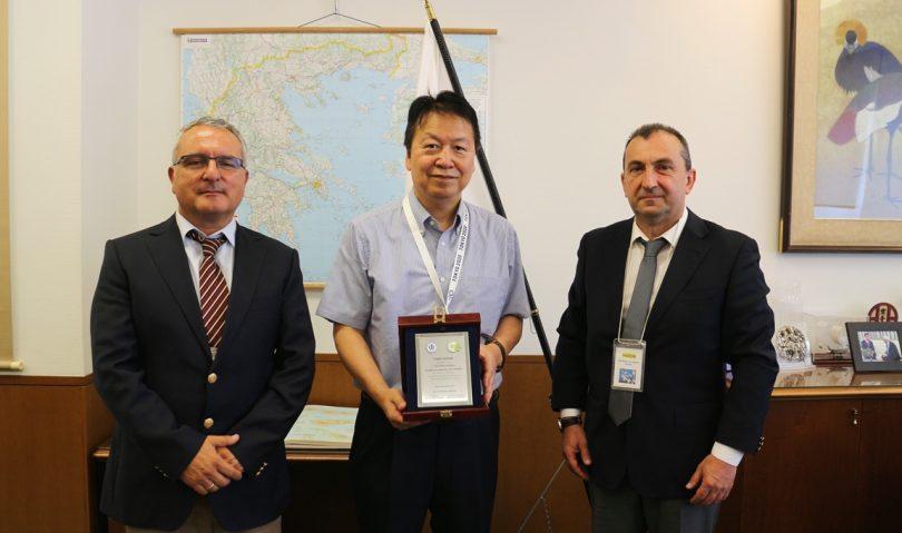 Επίσημη πρόσκληση της ΕΟΤ στον Πρέσβη της Ιαπωνίας ενόψει του Cadet European Judo Cup «Chania 2019»