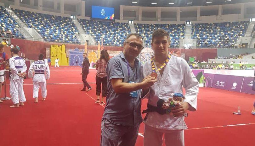 «Χάλκινος» ο Τσουτλασβίλι στο Ολυμπιακό Φεστιβάλ Ευρωπαϊκής Νεότητας