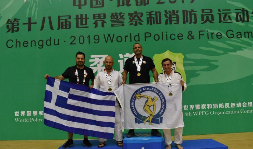 Παγκόσμιοι Αγώνες Αστυνομικών-Πυροσβεστών: «Χάλκινοι» οι Ζήσης, Πασχαλίδης