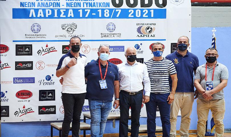 Με μεγάλη επιτυχία πραγματοποιήθηκαν στην Λάρισα τα Πανελλήνια Πρωταθλήματα ΕΦ/ΝΕ και ΝΑ/ΝΓ